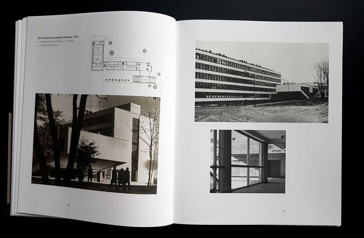 """Algimanto Mačiulio knyga """"Vytautas Jurgis Dičius. Architekto žvilgsniu""""."""