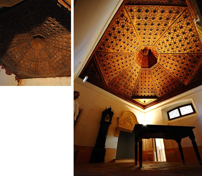Belmonto pilies restauracija (arch. Ch. de Dios de la Hoz)