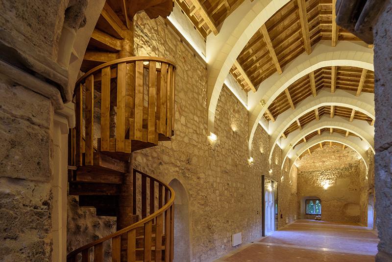 Brihuegos pilies restauracija (arch. Ch. de Dios de la Hoz)