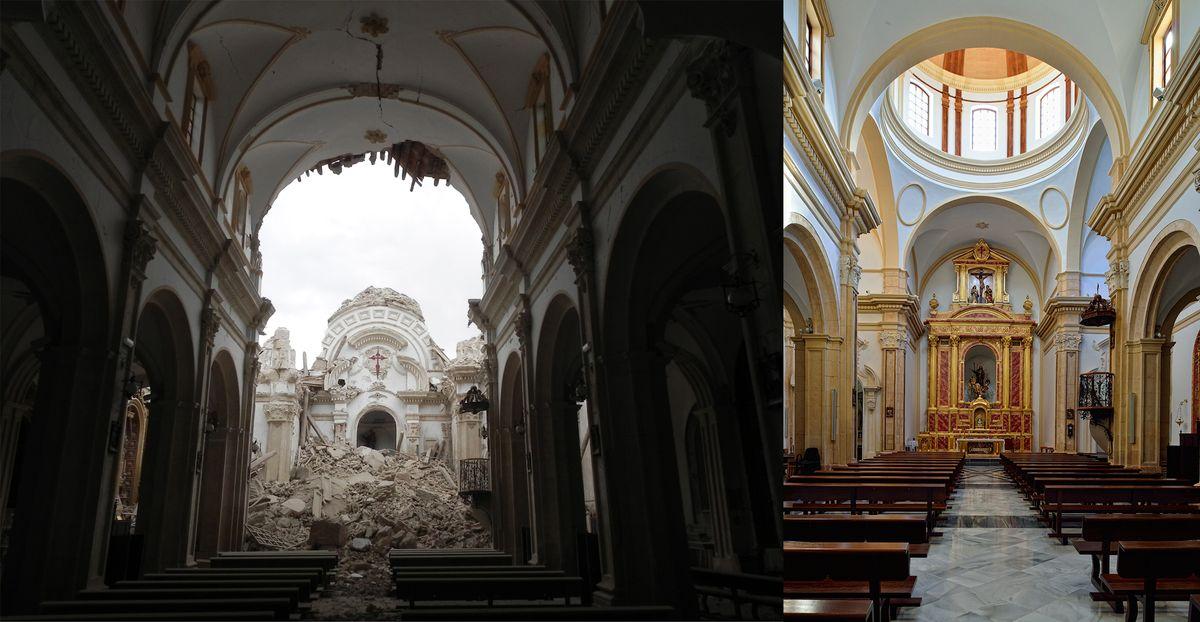 Lorkos šv. Patriko bažnyčios atkūrimas (arch. Ch. de Dios de la Hoz)