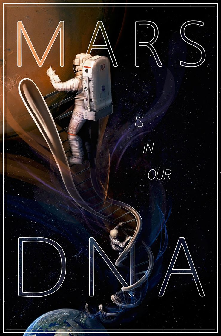"""Mars is in Our DNA"", Adrianna Allen, 1-oji vieta"