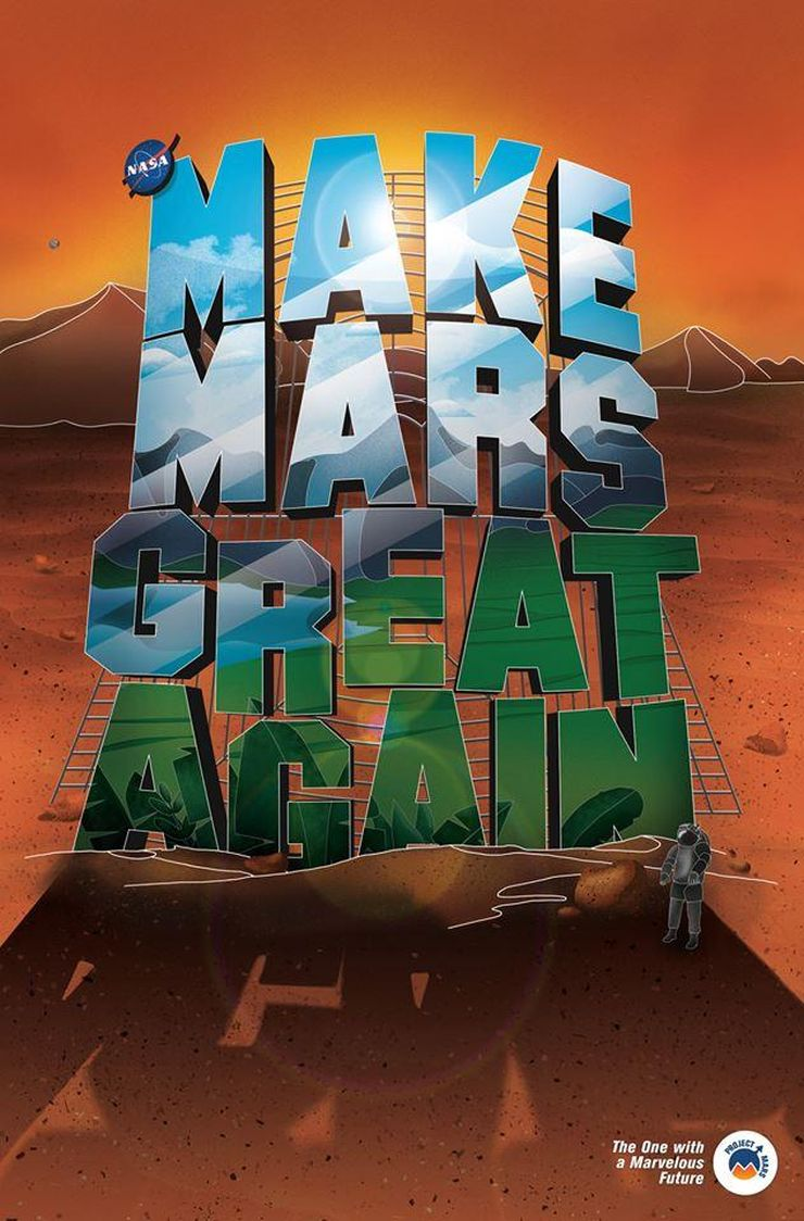 """Make Mars Great Again"", diz. G.Monginaitė"