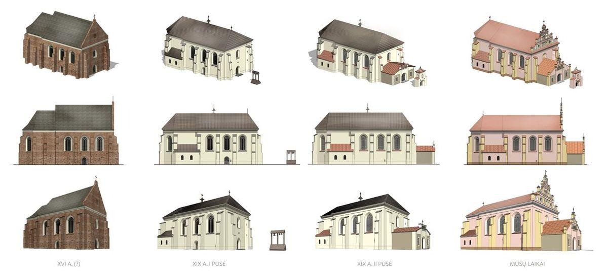 Merkinės parapinė bažnyčia. Pav.: Merkinės krašto muziejus