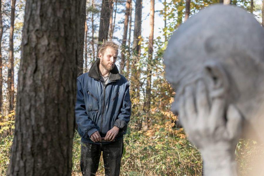 Skulptorius Mykolas Sauka. Foto: Vilniaus savivaldybė