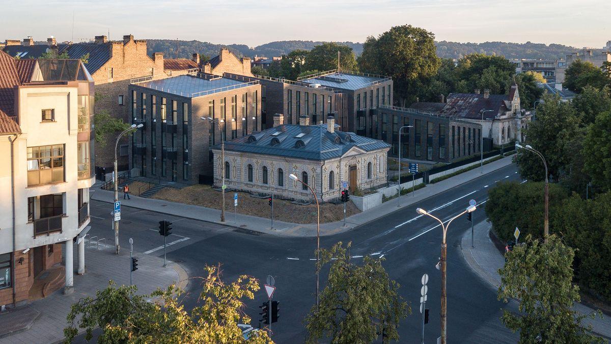 Ambraso architektų biuras: Daugiabutis gyvenamasis namas Žvėryne (Vilnius). Architektai: Audrius Ambrasas, Rasa Ambrasienė, Vilma Adomonytė. (Foto: Norbert Tukaj)