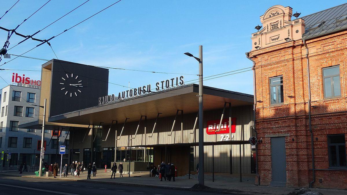 """""""Dviejų grupė"""": Kauno autobusų stotis. Architektai: Gintaras Balčytis, Jurgita Šniepienė, Kęstutis Vaikšnoras, Paulius Vaitiekūnas. (Foto: G.Balčytis)."""