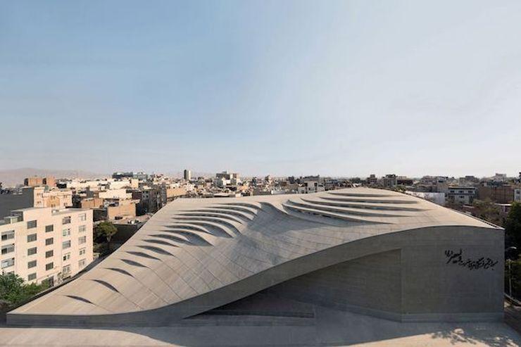"Vali-e-asr mečetė, arch. ""Fluid Motion Architects"" Teherane (Iranas). Foto: ""Fluid Motion Architects"""
