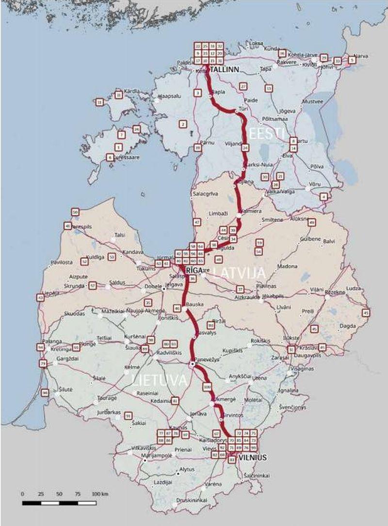 Baltijos šalių paveldas