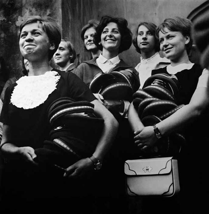 Imatrikuliacija Vilniaus universitete, A.Sutkus, Vilnius, 1969 m.
