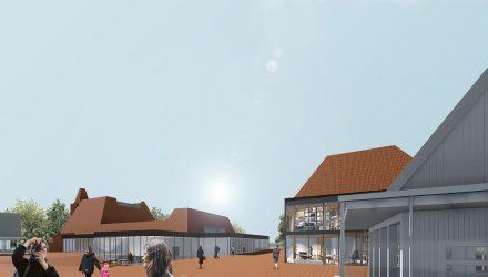 """Projektas devizu """"TKR002""""; arch. I.Lesauskas, D.Laucius, G.Datenytė, M.Zemlickaitė; 1-oji vieta"""
