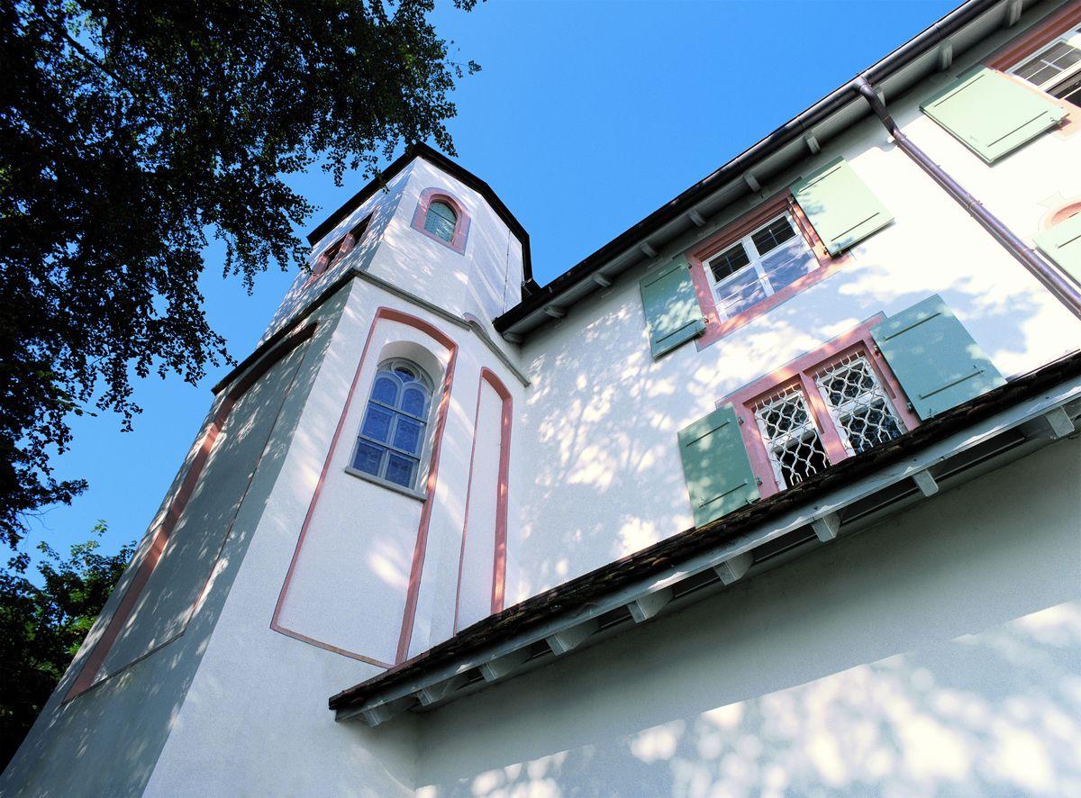 Bažnyčios fasadas po sanavimo kompanijos Knauf medžiagomis.