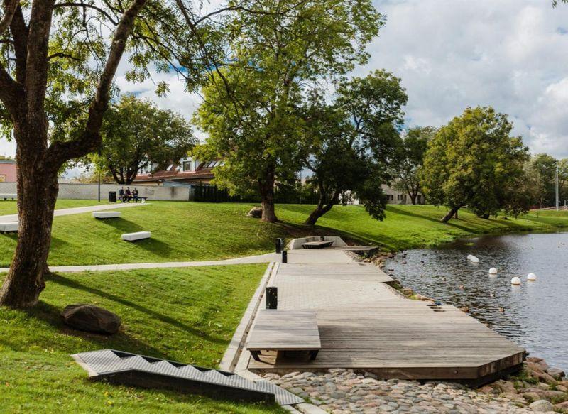 Teemant parkas (autoriai L.Einla, E.Kaare, L.Sekavin, K.Irbo). Estijos kraštovaizdžio architektų sąjungos apdovanojimas