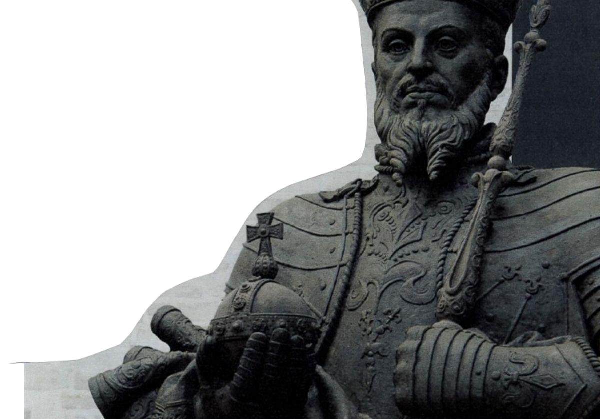 Paminklas Žygimantui Augustui Pasvalyje. Pav.: Pasvalio sav.