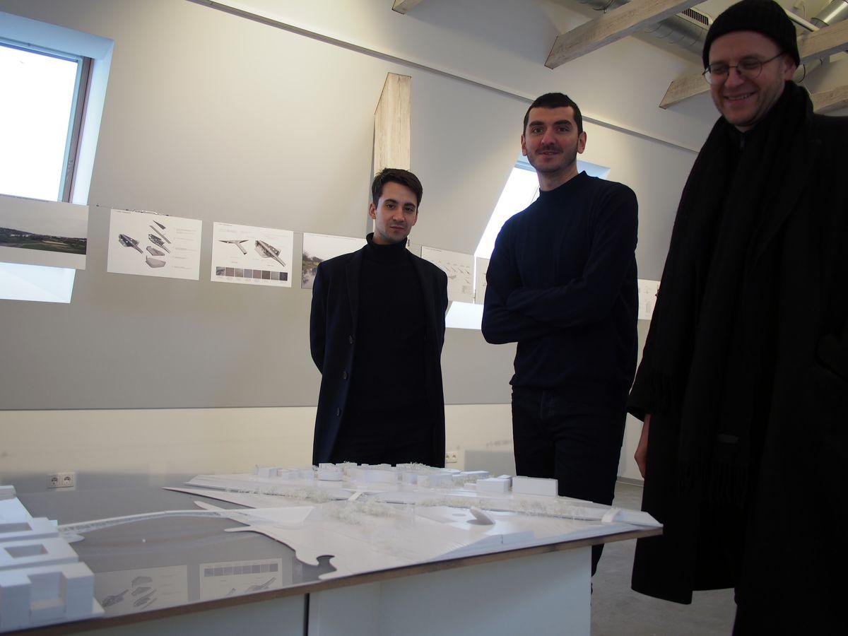 Jauno projektuotojų kolektyvo KILD architektai Dominykas Daunys, Ivane Ksnelashvili ir Petras Išora sau kelia itin aukštus profesinius reikalavimus. Foto: ©PILOTAS.LT