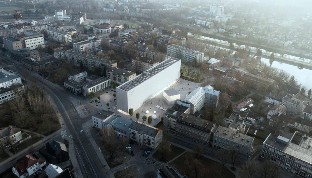 Projektuojama jau antroji SEMC dalis – kairėje. Architektai: IMPLMNT (A.Syrusas, G.Šidlauskaitė ir R.Bertašius)