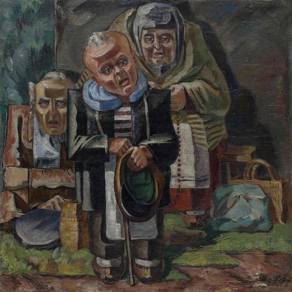 Žemaitijos ubagai, A.Galdikas