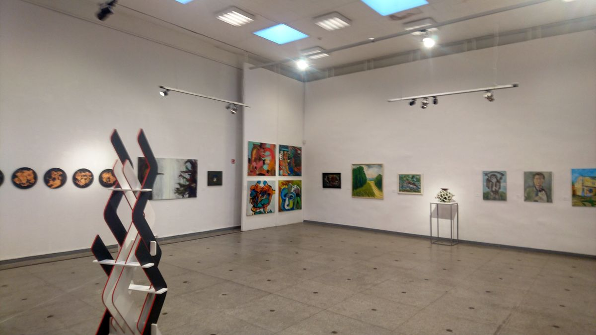 Geriausio 2018 metų kūrinio parodai šiemet buvo patikti 99 meno kūriniai už kuriuos iš viso balsavo 2.117 parodos lankytojų.Foto: ©PILOTAS.LT