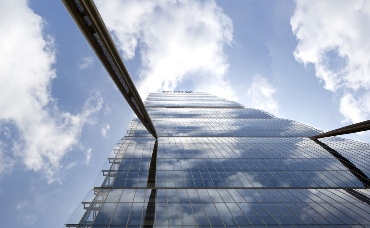 "Milano bokštas ""Allianz"", arch. ""Arata Isozaki & Associates"". Foto: Alessandra Chemollo"