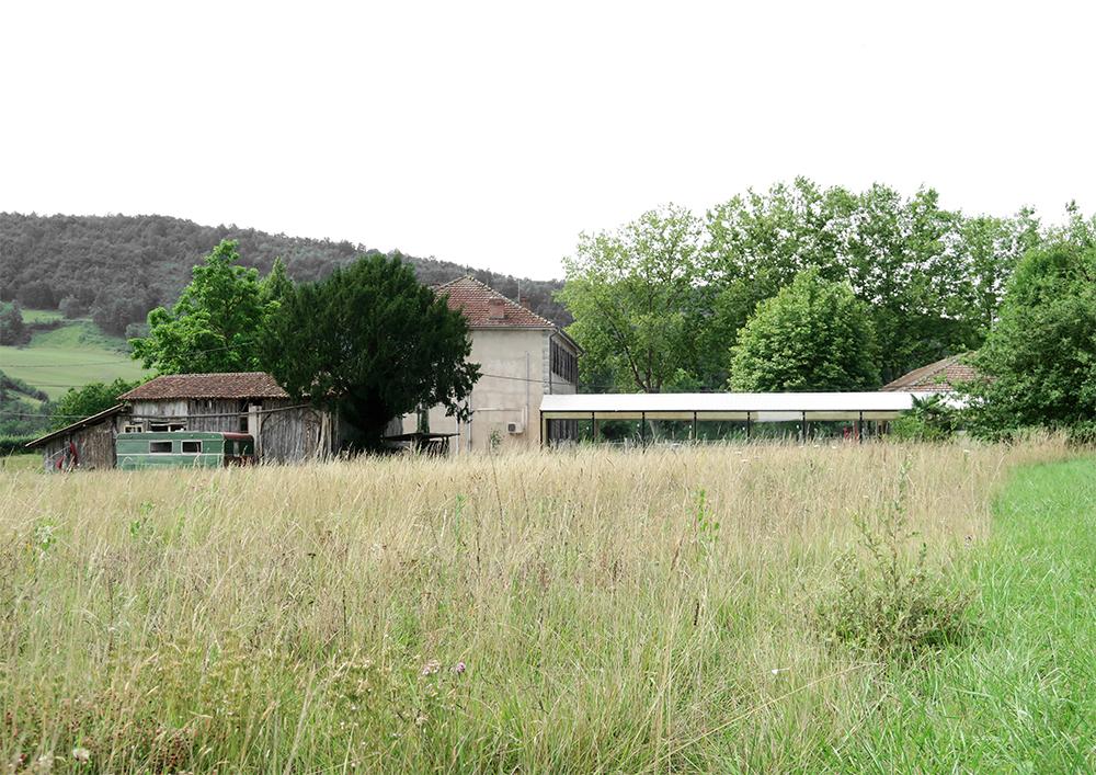 Montbrun-Bocage mokyklos kavinė (arch. BAST). Foto: BAST
