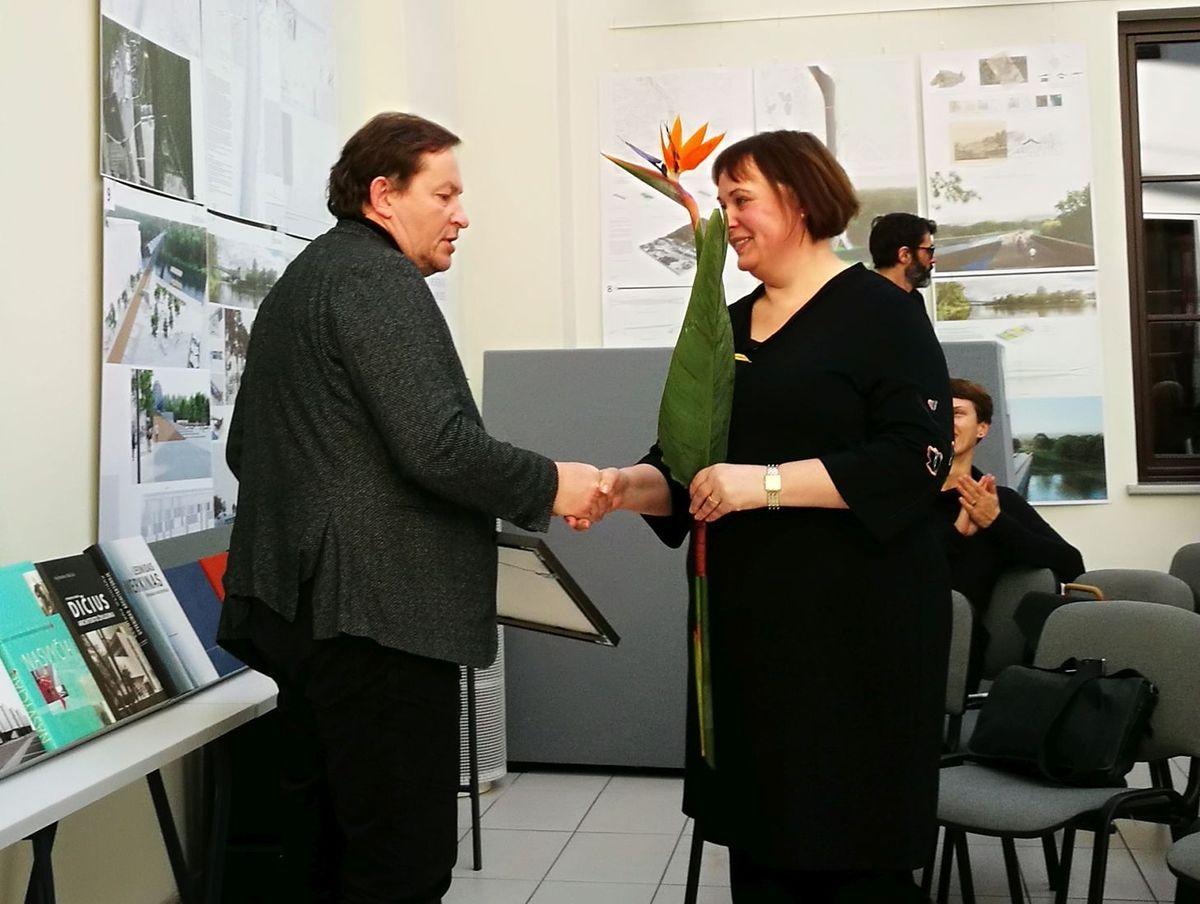 Architektas Sigitas Kuncevičius. Foto: A.Bakšys.