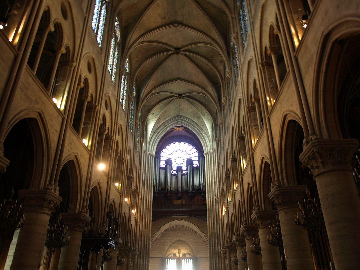 Paryžiaus Dievo Motinos katedra prieš gaisrą. Foto: ©PILOTAS.LT
