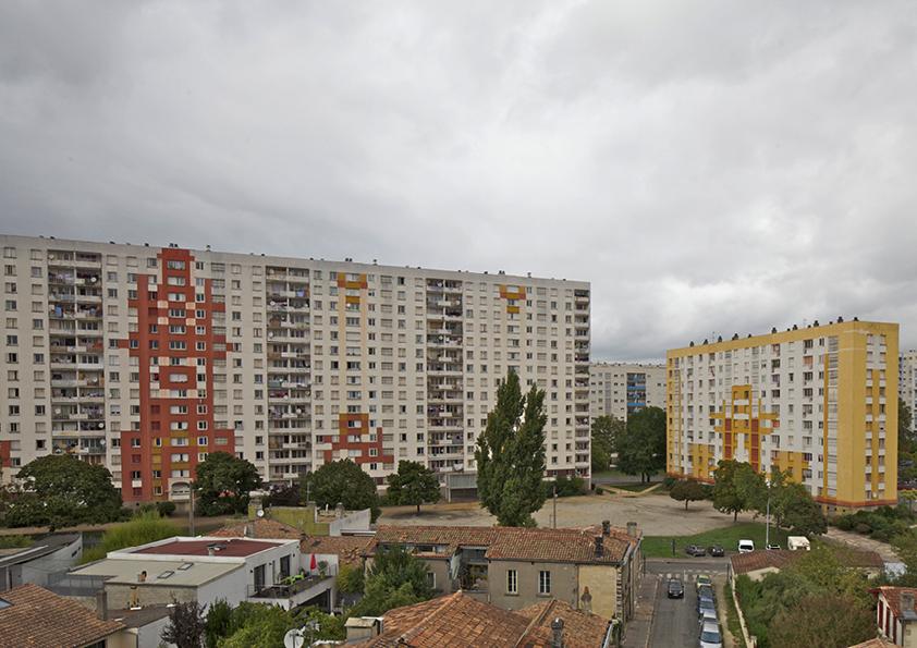 """Socialinių būstų kompleksas """"Grand Parc Bordeaux"""" Bordo mieste prieš renovaciją"""