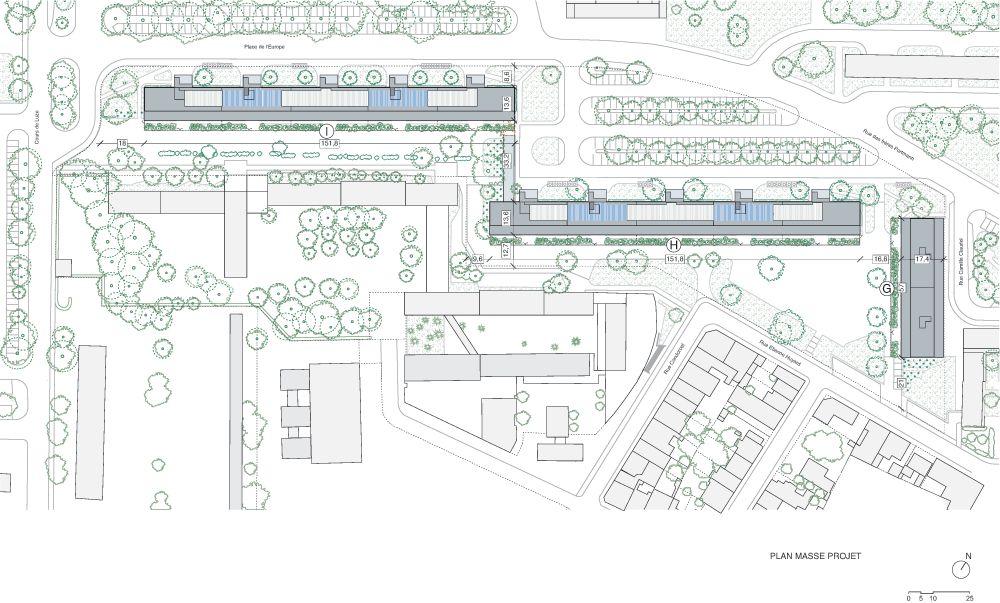 "Socialinių būstų kompleksas ""Grand Parc Bordeaux"" Bordo mieste (arch. A.Lacaton, J.P.Vassal, F.Druot, C.Hutin), Mies van der Rohe premija 2019"