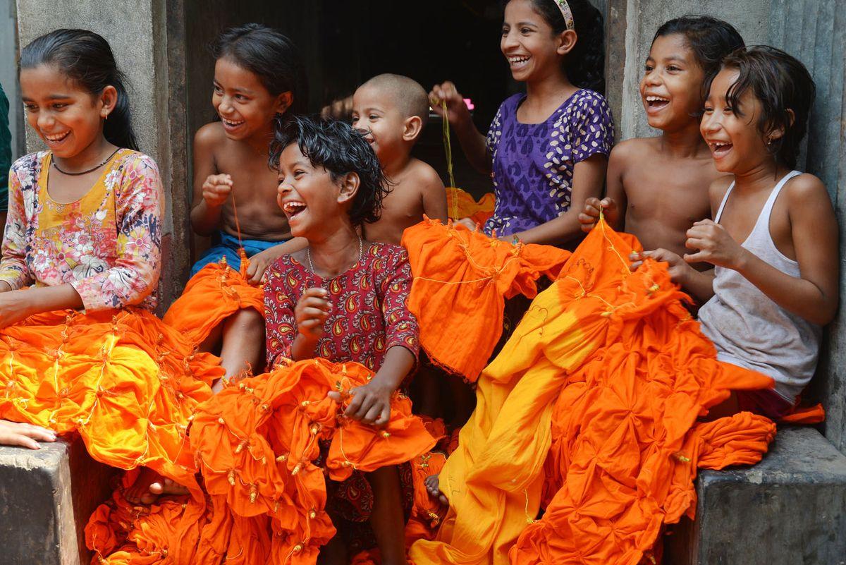 """""""Bangladešo vaikai"""", R.Požerskis."""