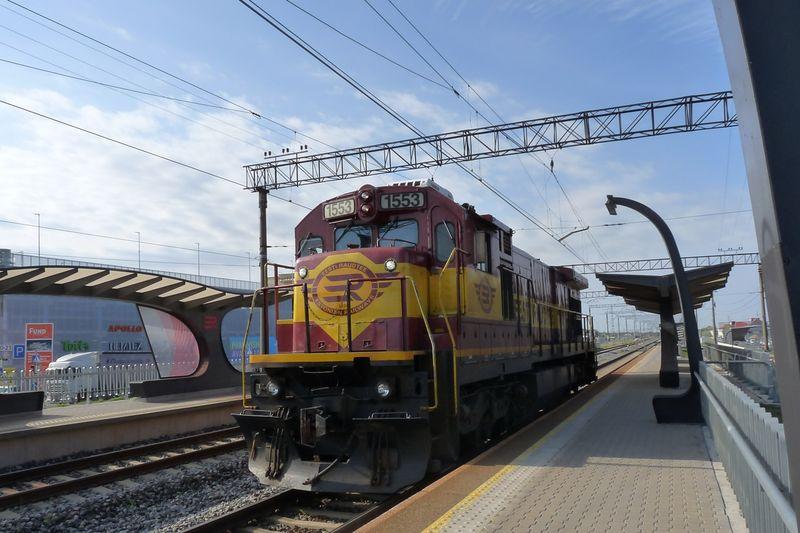 "Nuotrauka: Ulemistės geležinkelio stotis. Foto: ""Rail Baltica""."