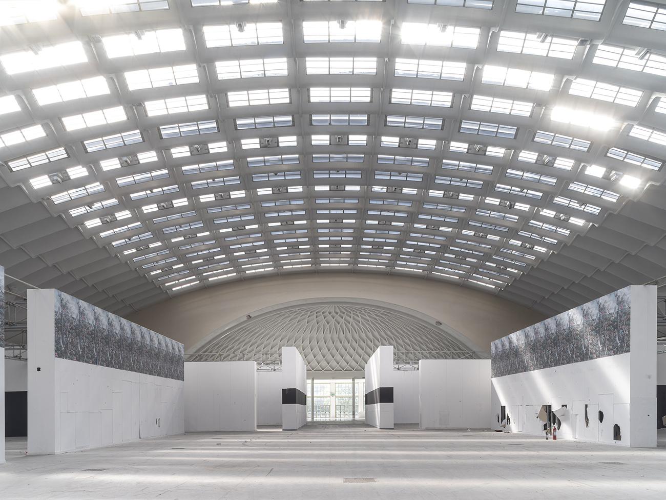 Italijos konferencijų ir parodų centras Turine (arch. Pier Luigi Nervi, 1954). Foto: Fabio Oggero ir PLN Project nuosavybė