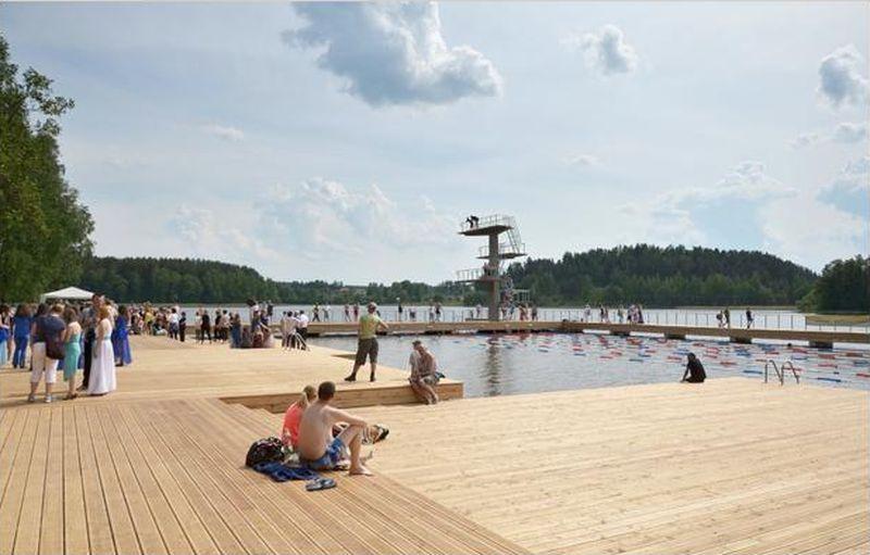 "Zarasaičio ežero paplūdimys (arch. ""a2sm""). Foto: ""a2sm""."