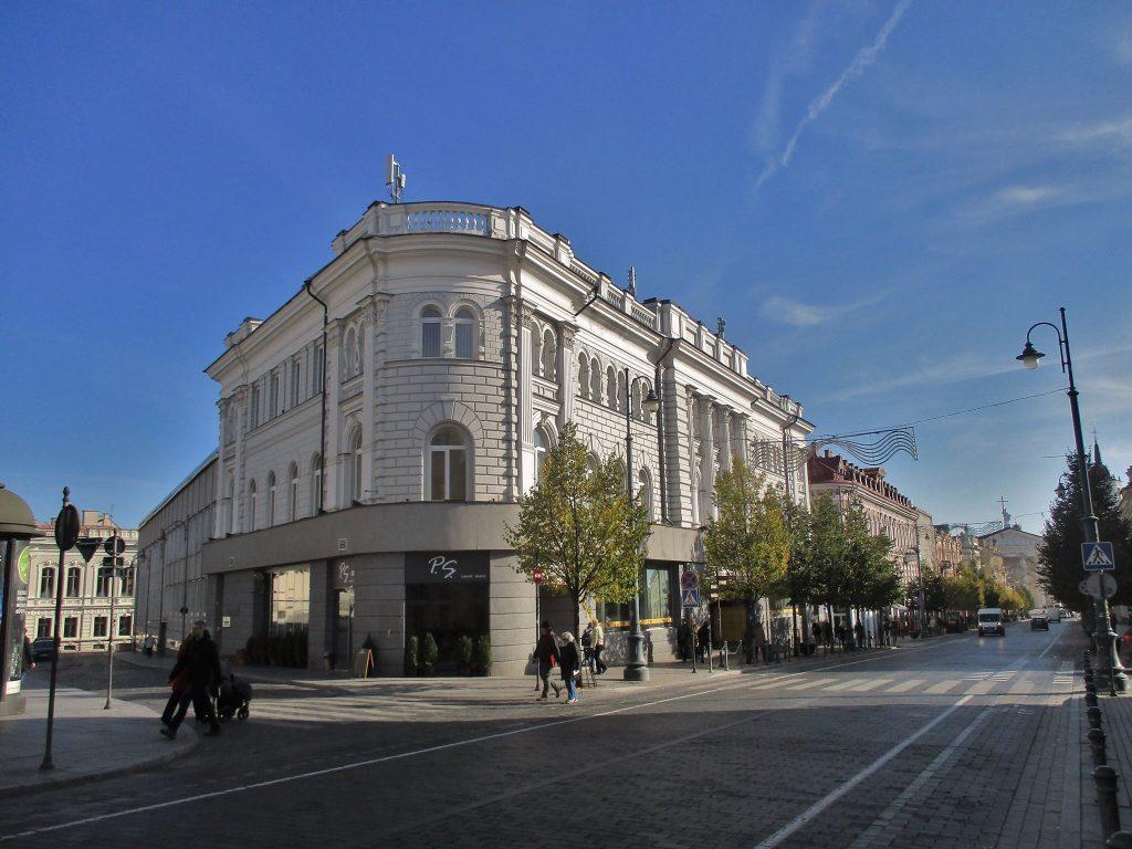 Vilniaus centrinis paštas (architektai Algimantas ir Vytautas Nasvyčiai, 1969 m). Foto: Gytis Oržikauskas.