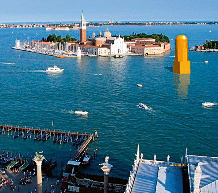 Bokštas Venecijoje, Italija. Vilen Kunnapu, 2006