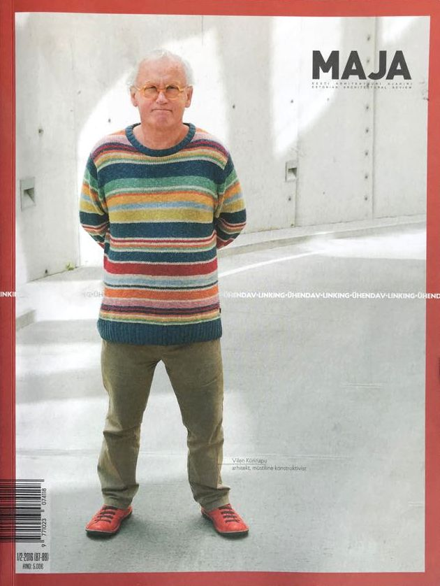 """Vilen Kunnapu – dažnas viršelių svečias. """"Maja"""", Estija, 2016"""