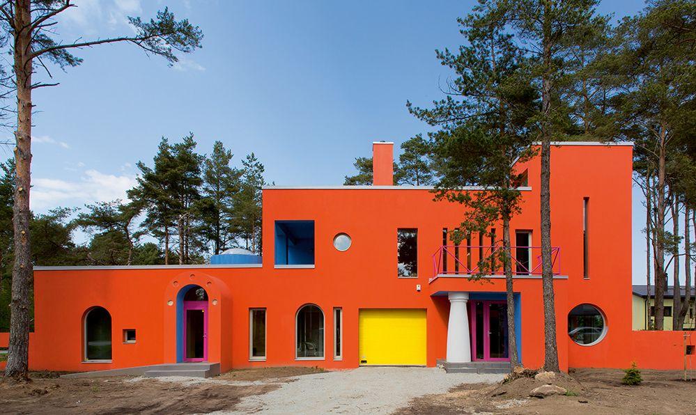 Dramblio namas, Talinas. Architektai Vilen Kunnapu ir Ain Padrik, 2013