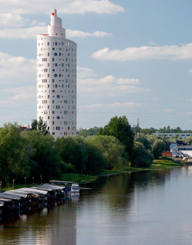 Spiralinis bokštas, Tartu. Architektai Vilen Kunnapu ir Ain padrik, 2010