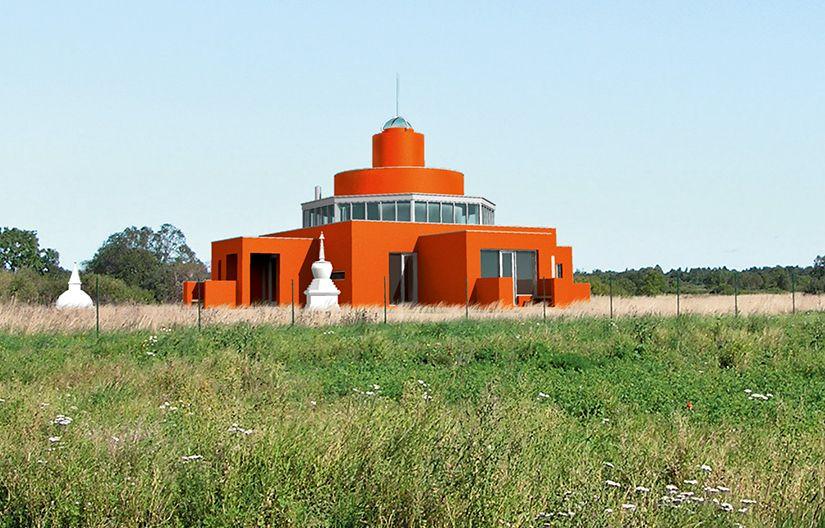 Šventnamis, Suurupi kaimas, Estija. Architektai Vilen Kunnapu ir Ain Padrik, 2007