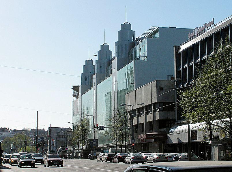 Trijų bokštų namas, Talinas. Architektai Vilen Kunnapu ir Ain Padrik, 2006