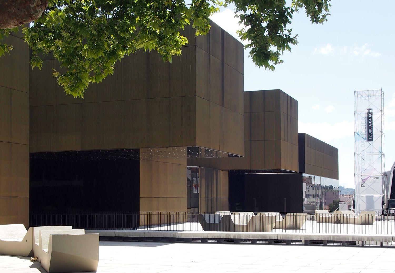 "José de Guimarães Tarptautinis menų centras (CIAJG). Arch. ""Pitagoras Arquitectos"", 2012. . Foto: ©PILOTAS.LT"