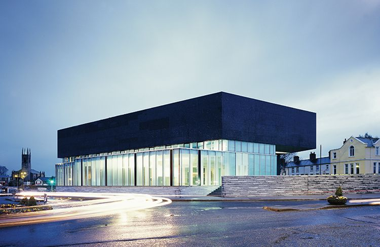 "Menų centras Airijoje, arch. ""Grafton Architects"". Foto: Ros Kavanagh"