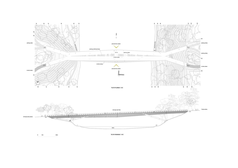 "Užvingio salos tiltas (arch. KILD – P.Išora, D.Daunys, I.Ksnelashvili, O.Lozuraitytė; konstruktoriai ""TEC Infrastructure"" – PV V.Karieta)"
