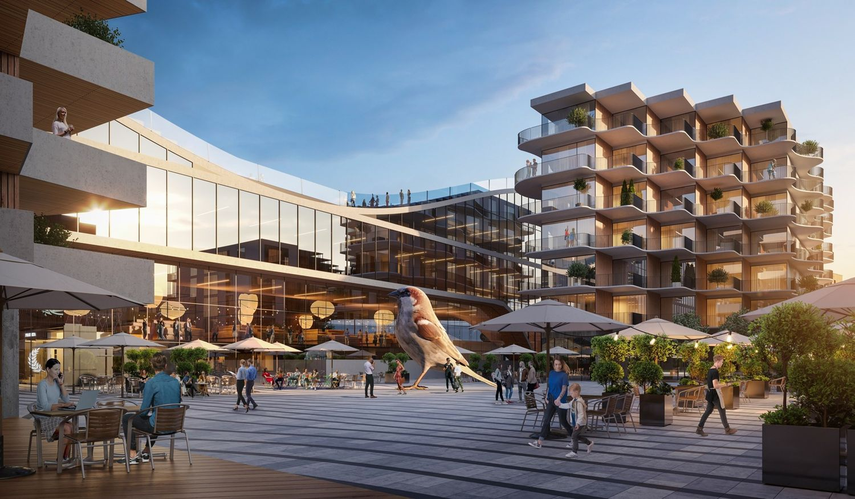 "Talino centrinis turgus, arch. ""KOKO Architects"""