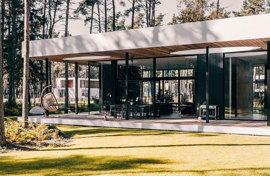 """""""Namas Danija (arch. Linda Veski-Olsen, inžinierius: Indrekas Mäe), statytojas: """"Happy Home Majad"""". """"Arcwood Lumber"""" laminuotos medienos apdovanojimas"""
