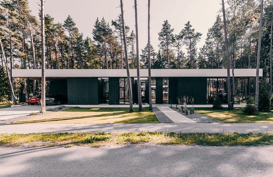 """""""Arcwood Lumber"""" laminuotos medienos apdovanojimas (arch. Linda Veski-Olsen, inžinierius: Indrekas Mäe). Statytojas: """"Happy Home Majad"""""""
