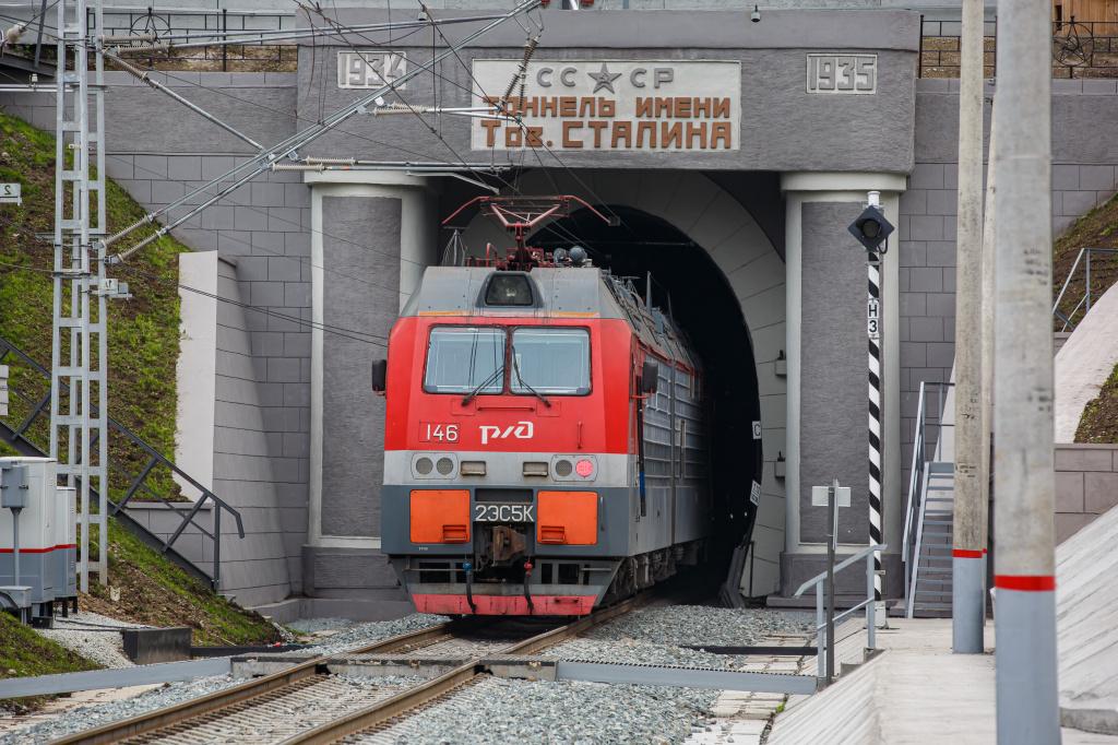 """Tolimųjų Rytų geležinkelio Vladivostoko tunelio modernizacija (""""Mosmetrostroj""""), Geriausias tumeliavimo 2019 metų projektas kategorijoje iki 50 mln. eurų. Foto: """"Mosmetrostroy"""""""