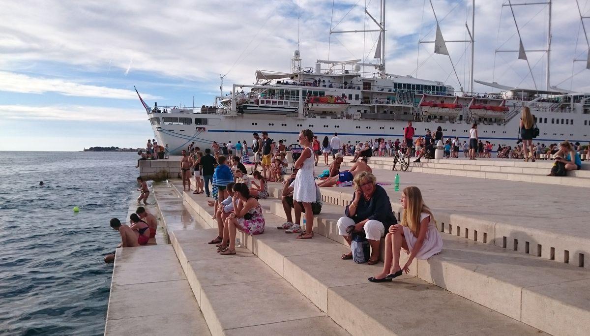 Zadaro jūros vargonai