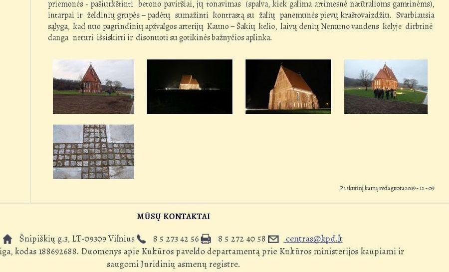 """KPD svetainės publikacijoje Betoninė Zapyškio aikštė iškalbingai """"netilpo""""..."""