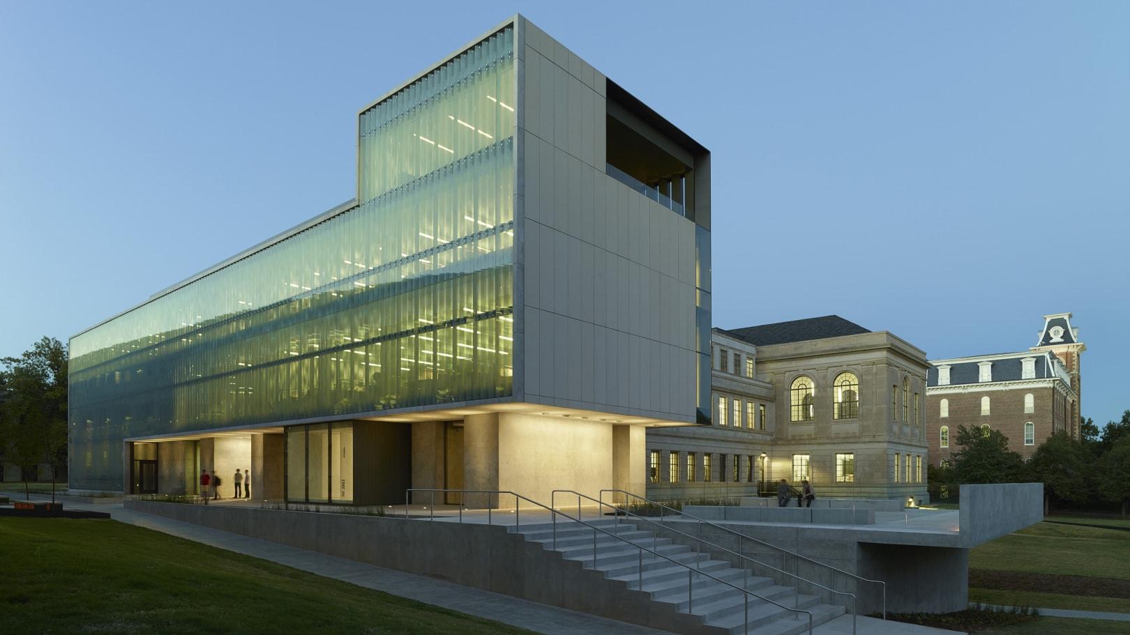 Vol Walker Hall & the Steven L Anderson Dizaino centras (arch. M.Blackwellas, 2013 m.). Foto: Timothy Hursley