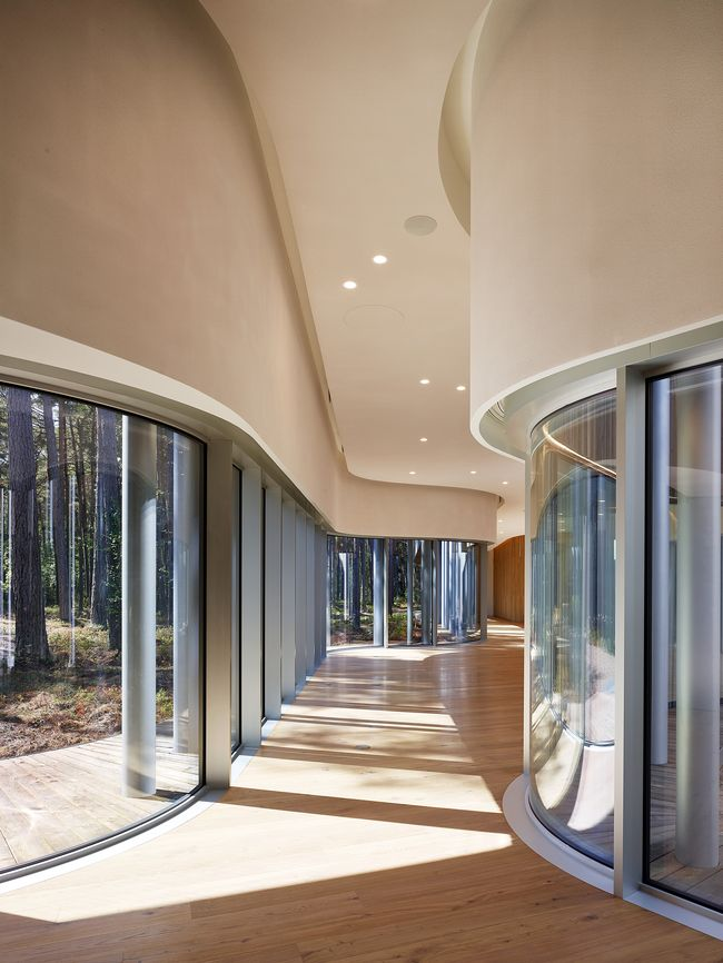 Arvo Part centras (arch. F.Nieto ir E.Sobejano), Estijos kultūros fondo pagrindinis architektūros apdovanojimas Foto: Roland Halbe