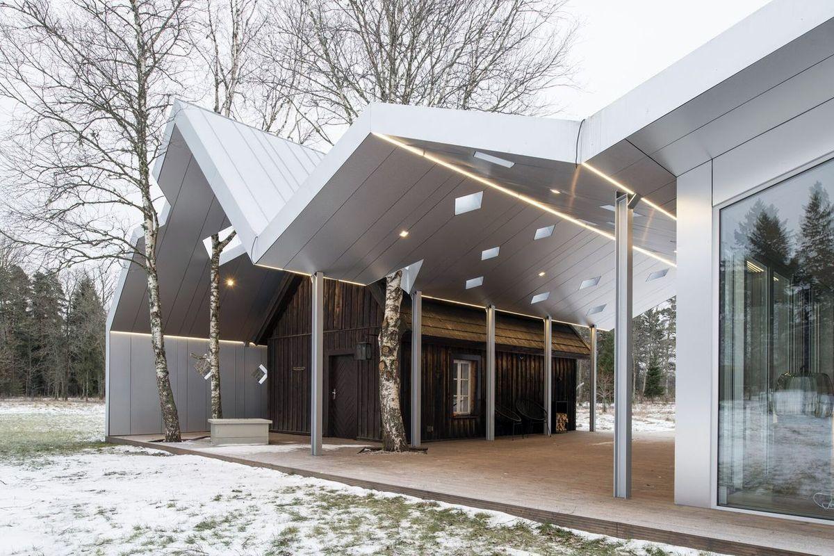 Ūkio Lusthoone sauna (arch. P.Pere'is ir E.Kedelauk), Geriausias namo apdovanojimas. Foto: Tõnu Tunnel
